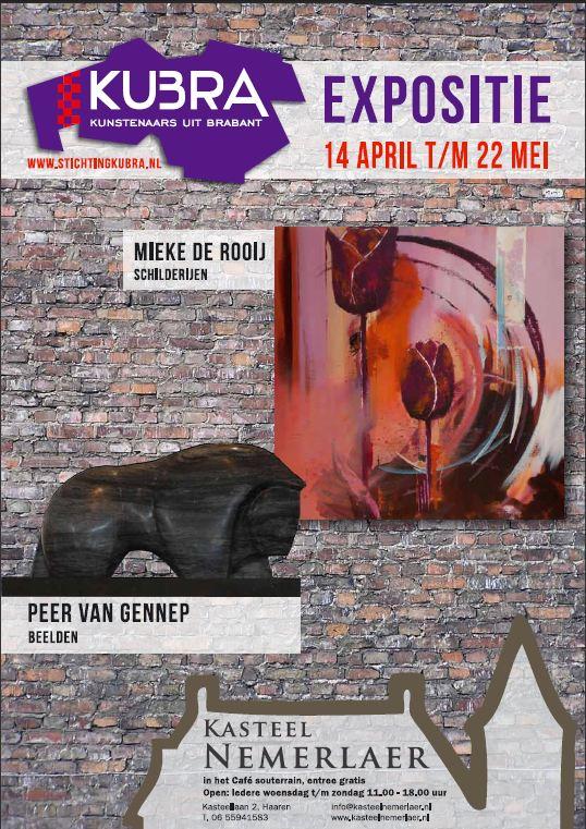 15 april t/m 22 mei 2012 KuBra thuis in souterrain Kasteel Nemerlaer IV