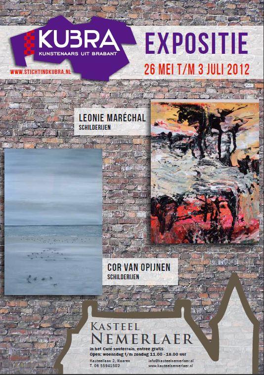 26 mei t/m 3 juli 2012 KuBra thuis in souterrain kasteel Nemerlaer V