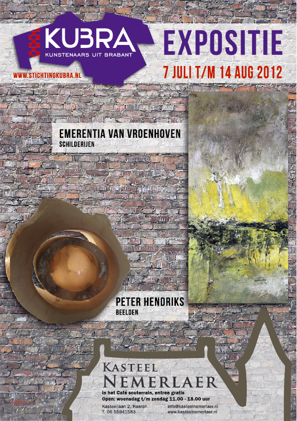 7 juli t/m 14 augustus KuBra in souterrain kasteel Nemerlaer VI