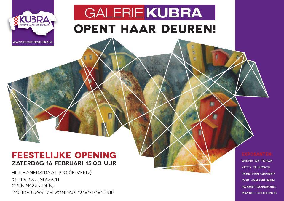 16 februari t/m 3 maart 2013 Stichting KuBra presenteert: Kunst Zonder Omwegen