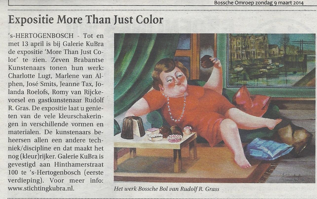 Publicatie Bossche Omroep zondag 9 maart 2014