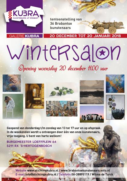 20-12 t/m 18-02-2018 Galerie KuBra presenteert: 'Wintersalon'